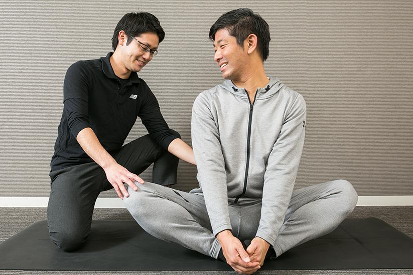 ストレッチ・トレーニング指導